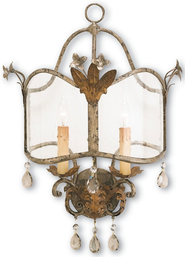 Zara Wall Sconce design by Currey & Company