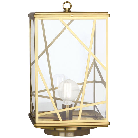 Bond Convertible Post Lantern in Various Finishes design by Michael Berman