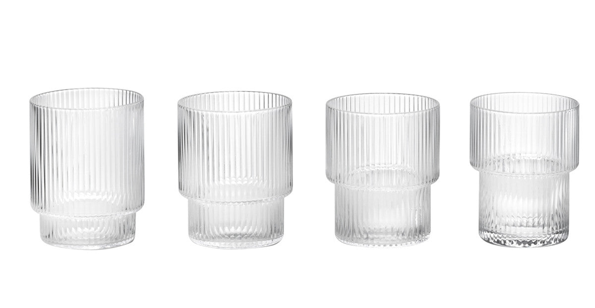 Ripple Glass Set design by Ferm Living