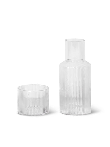 Ripple Carafe Set by Ferm Living