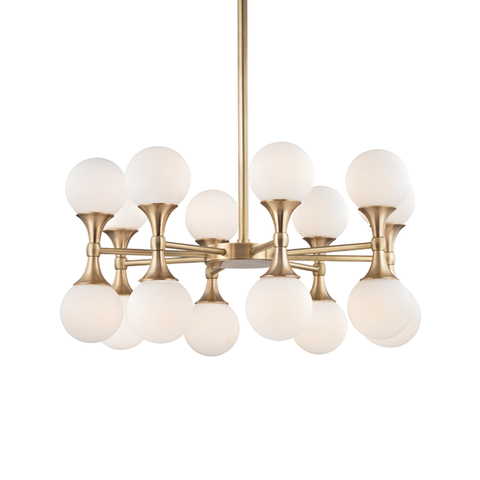 Astoria 16 Light Chandelier by Hudson Valley Lighting