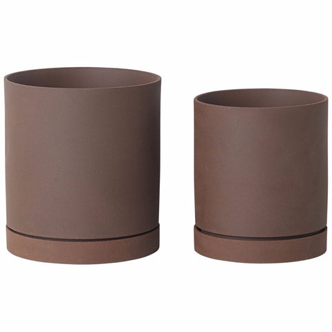 Sekki Pot in Various Sizes & Colors design by Ferm Living
