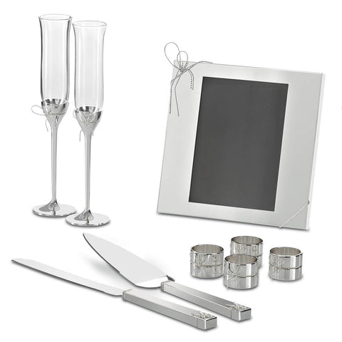 Love Knots Stainless Cake Knife & Server by Vera Wang