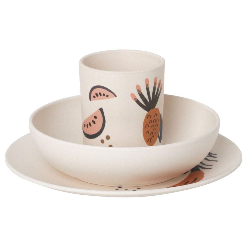 Fruiticana Bamboo Dinner Set design by Ferm Living