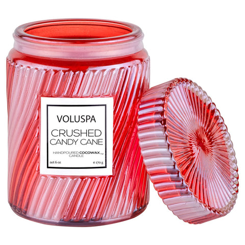 Crushed Candy Cane Small Jar Candle
