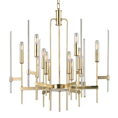 Bari 12 Light Chandelier by Hudson Valley Lighting