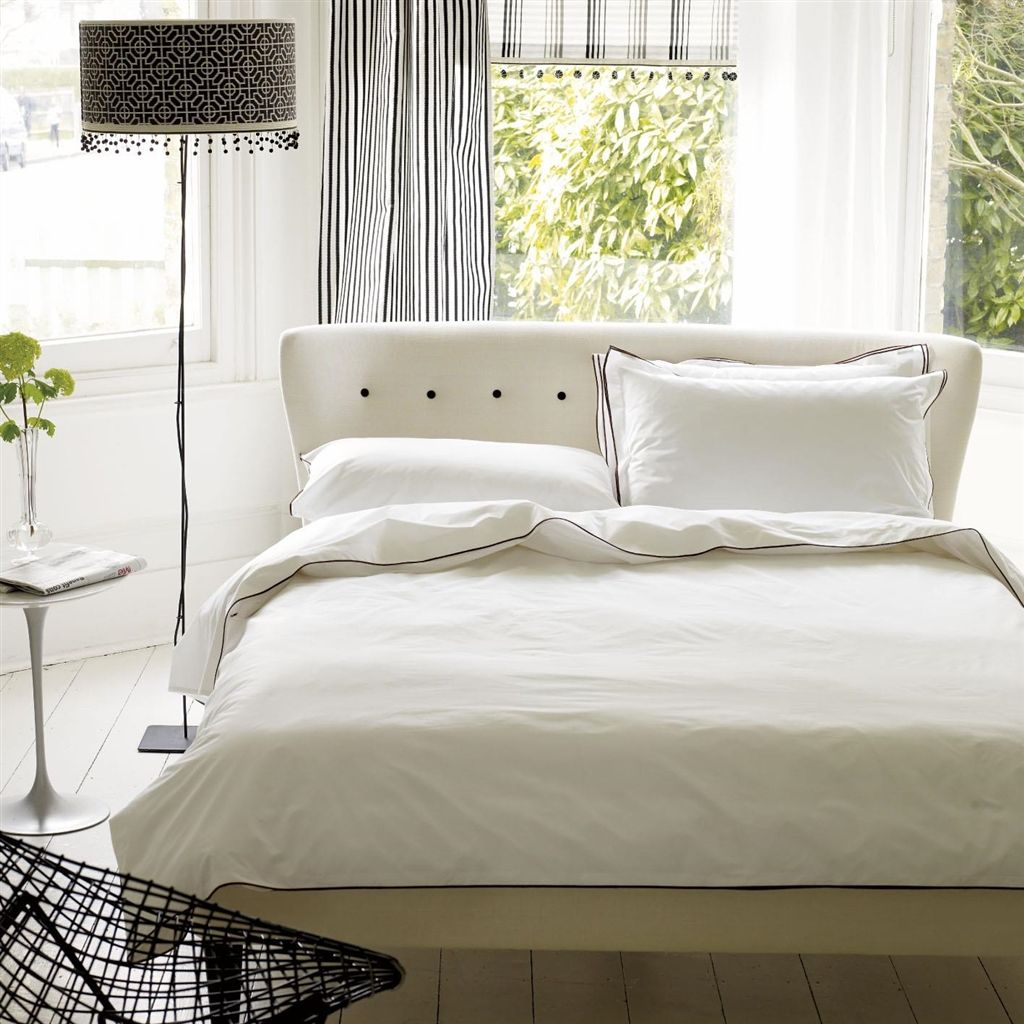 Astor Nutmeg Bedding design by Designers Guild
