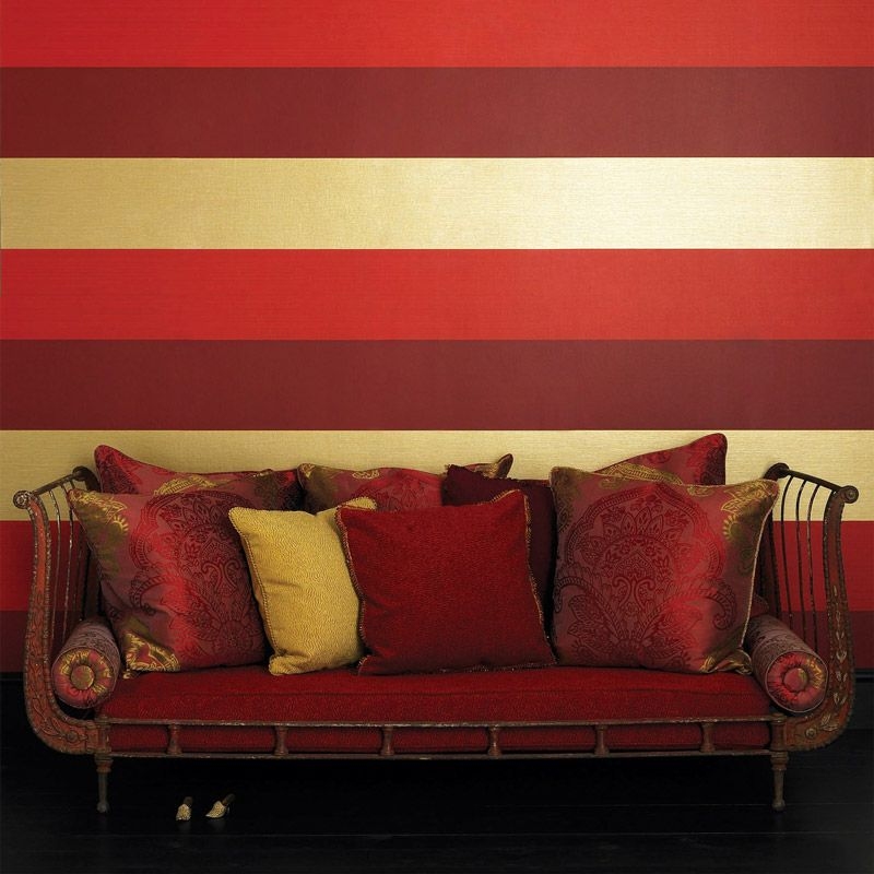 Cremona Wallpaper in multi-color from the Lombardia Collection by Osborne & Little