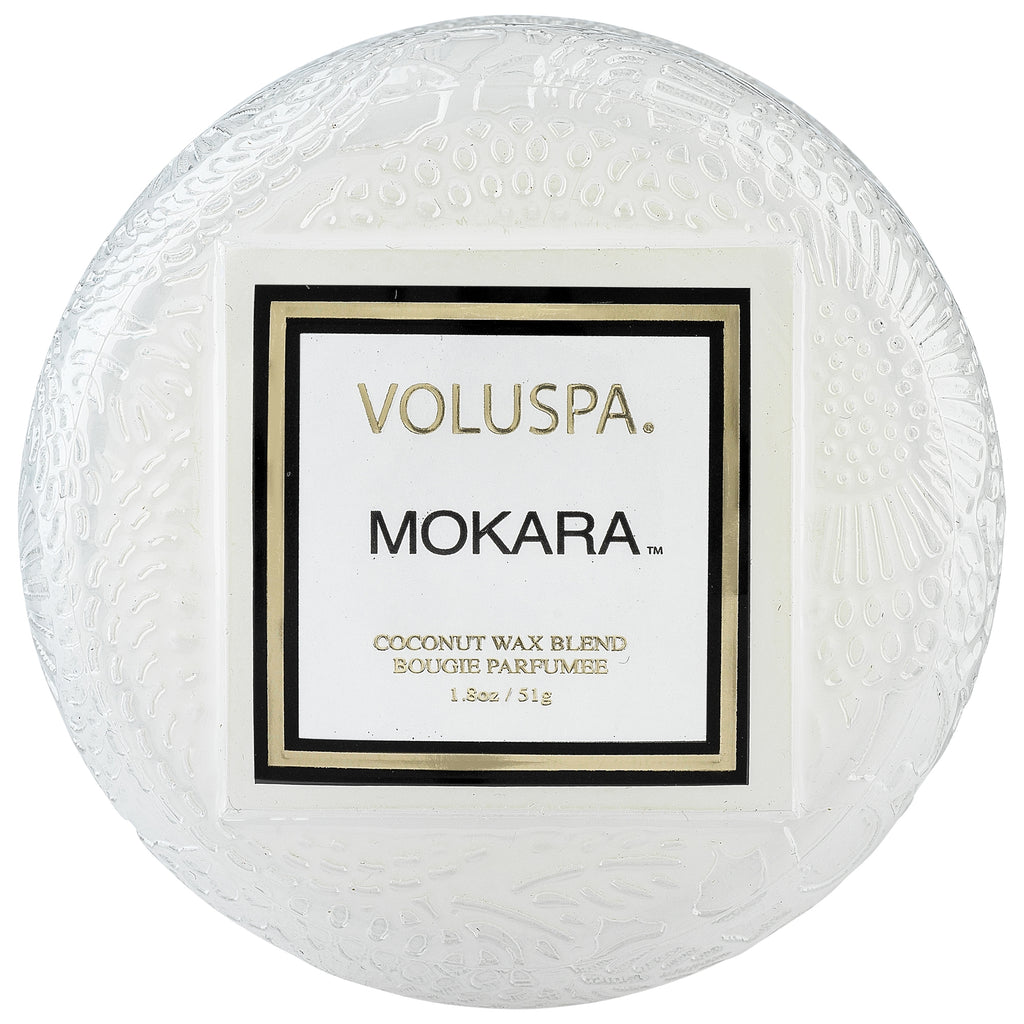 Macaron Candle in Mokara design by Voluspa