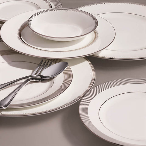 Grosgrain Stainless Steel 5-Piece Place Setting by Vera Wang
