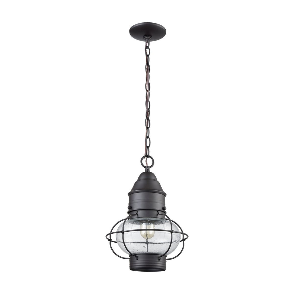 Onion 1 Outdoor Pendant in Oil Rubbed Bronze