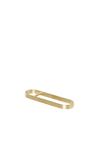 Fein Bottle Opener in Brass by Ferm Living