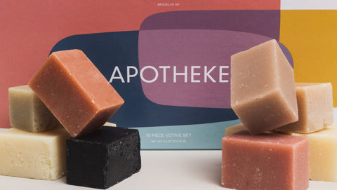 Apotheke 10 pc. Bar Soap Set