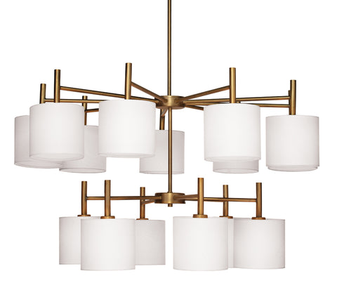 Ellis Two Tier Chandelier design by Jamie Young