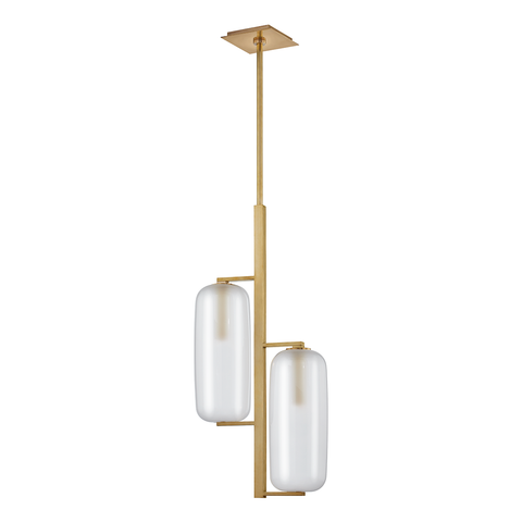 Pebble 2 Light Pendant by Hudson Valley