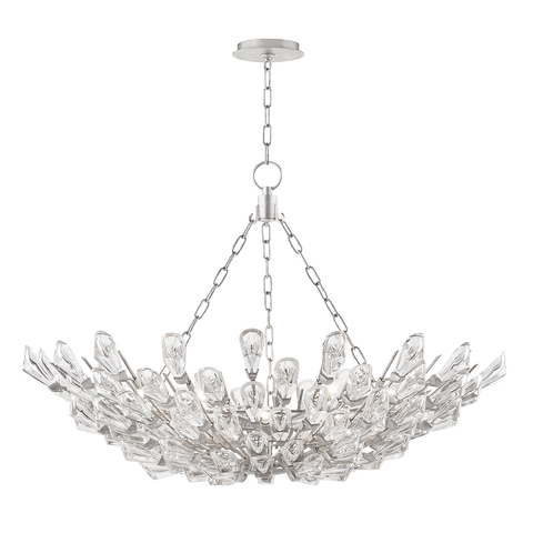 Tulip 10 Light Chandelier by Hudson Valley