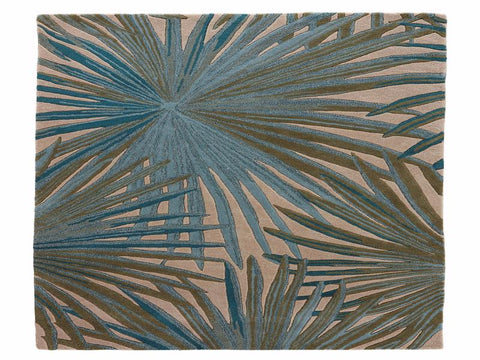 Palmetto Handmade Floral Blue/ Green Area Rug by Jaipur Living