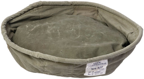 Large Vintage Tent Fabric Pet Bed