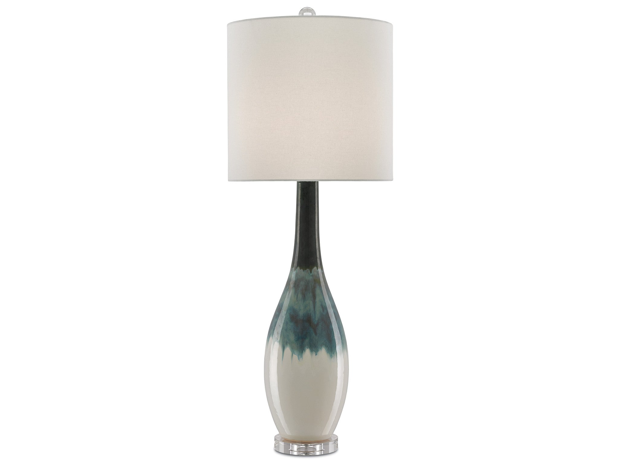 Rothko Table Lamp in Green design by Currey & Company