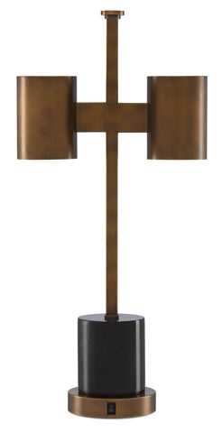 Kiseu Table Lamp by Currey & Company