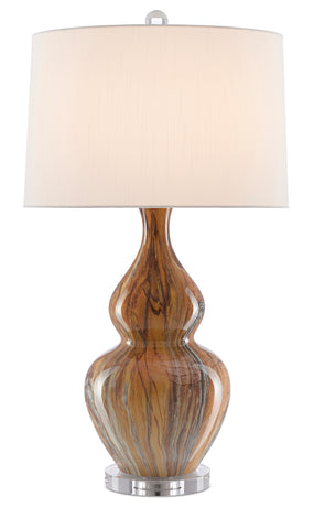 Kolor Brown Table Lamp by Currey & Company