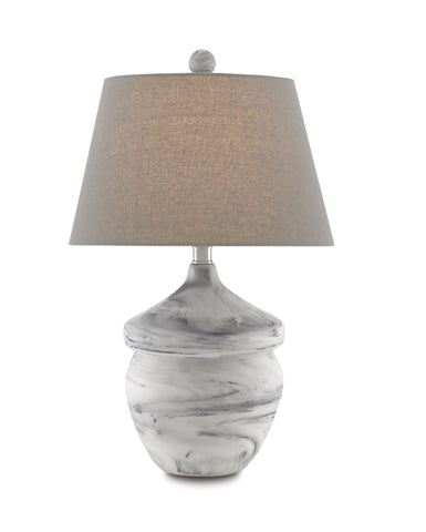 Vitellina Gray Table Lamp in Various Colors Flatshot Image