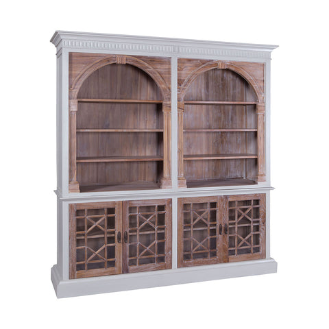 FARMHOUSE BOOKCASE by Burke Decor Home