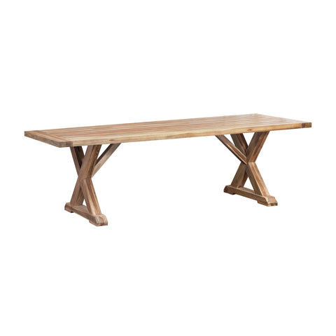 The Grove Indoor/Outdoor Trestle Table by Burke Decor Home