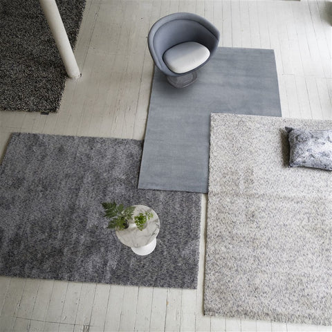 Mayfair Silver Rug design by Designers Guild
