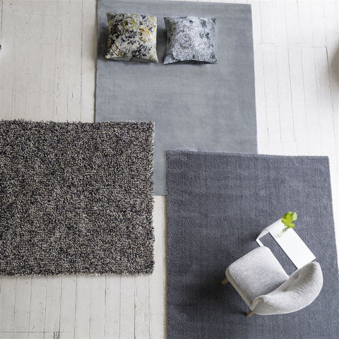 Clerkenwell Graphite Rug design by Designers Guild