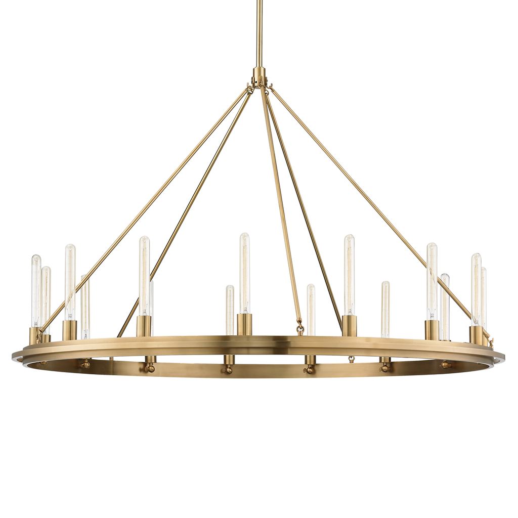 Chambers 15 Light Pendant by Hudson Valley Lighting