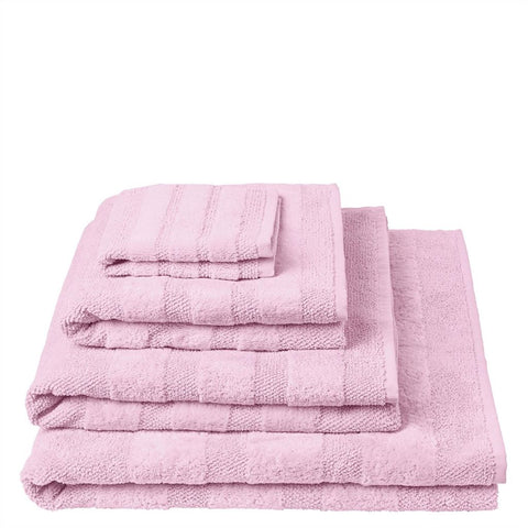 Coniston Peony Towels Design By Designers Guild