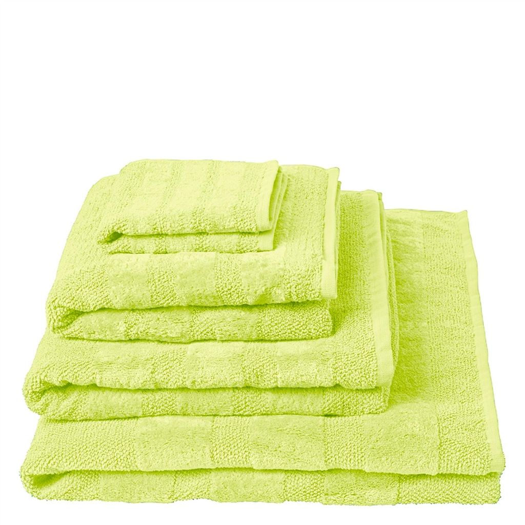 Coniston Acacia Towels design by Designers Guild