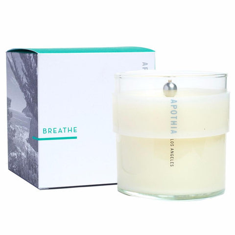 Breathe Candle design by Apothia