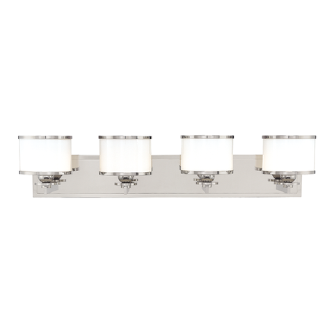 Basking Ridge 4 Light Bath Bracket by Hudson Valley Lighting