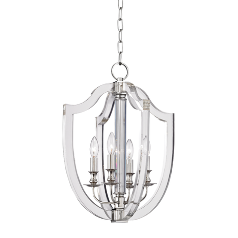 Arietta 4 Light Pendant by Hudson Valley Lighting