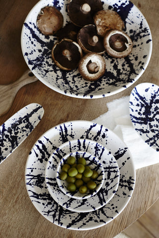 Set of 2 Gerona Tapas Dish in Splatter design by Canvas