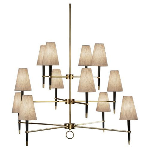 Ventana 3-Tier Chandelier by Jonathan Adler for Robert Abbey