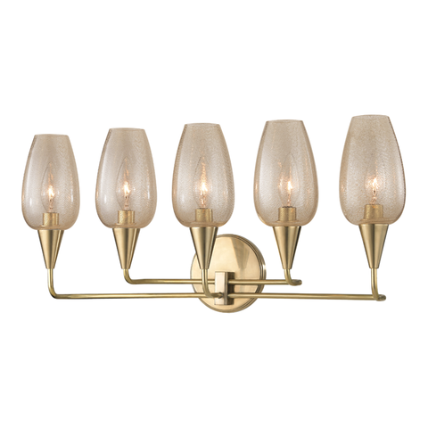 Longmont 5 Light Wall Sconce by Hudson Valley Lighting