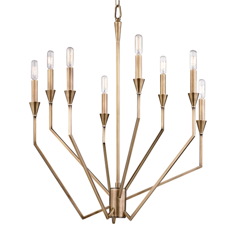Archie 8 Light Chandelier by Hudson Valley Lighting