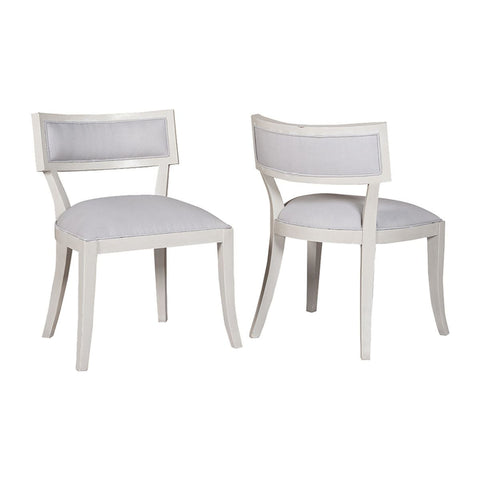 Set Of 2 Newport Dining Chairs Design By Burke Decor Home ...