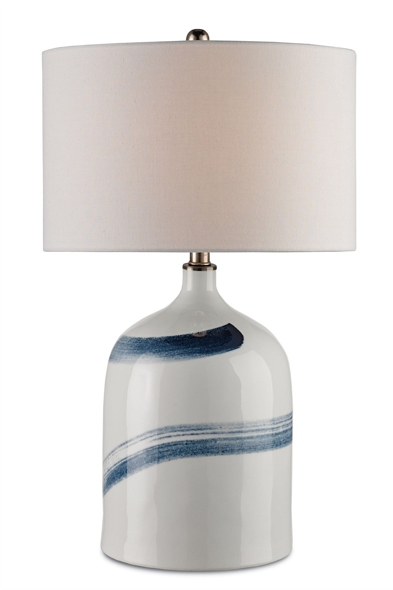Essay table lamp design by currey company burke decor for Lamp light design company