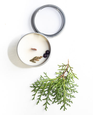 Black Fig + Cypress - Mini Candle