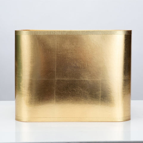 Square Gold Foil Shade by Couture Lamps