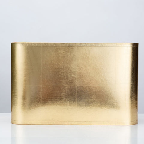Rectangular Gold Foil Shade by Couture Lamps