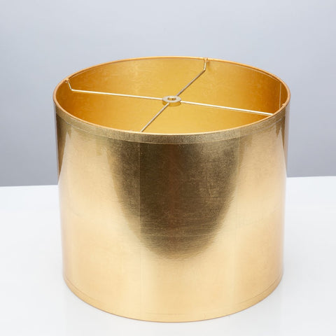 Round Gold Foil Shade by Couture Lamps