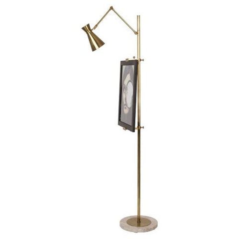 Bristol Adjustable Floor Easel with Lamp by Jonathan Adler for Robert Abbey