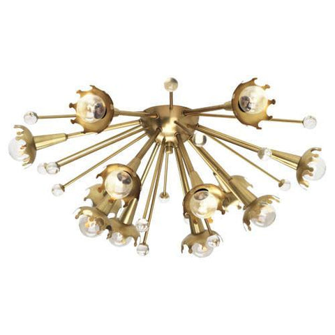 Jonathan Adler Collection Flush Mount Sconces design by Robert Abbey