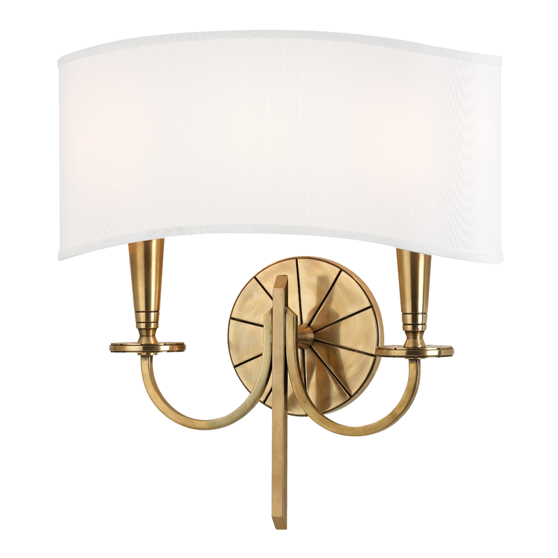 Mason 2 Light Wall Sconce by Hudson Valley Lighting