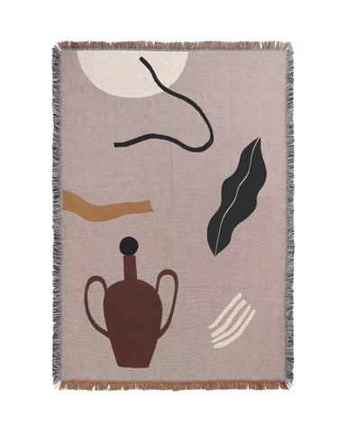 Mirage Blanket by Ferm Living